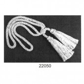 27'' Twisted Cord Tieback Double Tassel  - Princess Collection