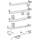 4-212-1   Single Lock-seam Curtain Rods