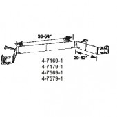 4-7169-1   Hinged Dauphine Components