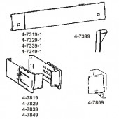 4-7319-1  Dauphine Curtain Rod Bulk & Accessories