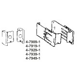 4-7909-1   Brackets for Dauphine Curtain Rods Bulk