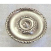 NM1184 Extra- Large Rosette Satin Nickel  3.5''
