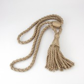 NM8363 Pewter Tassel  - Novo Mondo Collection