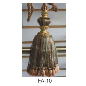 FA-10-B1 Deluxe Ribbon Tassel - Taffetta Collection