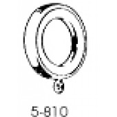 5-810-8/7 1 3/4'' Cafe Ring with Eyelets