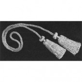 "5068    27"" Acetate Chair Tie w 3"" Tassels  -  Princess Collection"