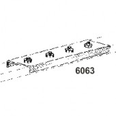6063 Joiners for 2 Tracks