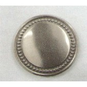 NM1185 Round Holdback with Buttons 3'' X 3''