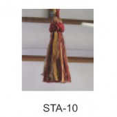 STA10 Small Ribbon Tassel 3/4''  - Taffetta Collection